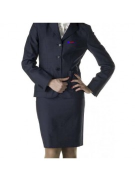 uniform coat and skirt for air hostess